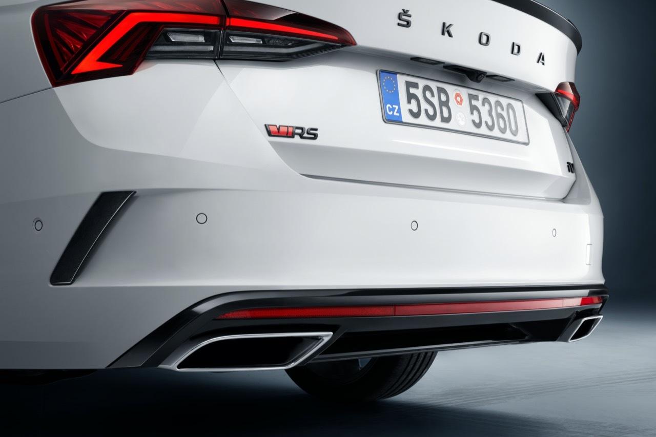 Nuova Skoda Octavia RS iV - Salone di Ginevra 2020