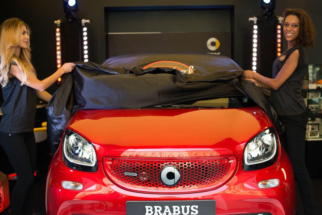 Nuova smart Brabus