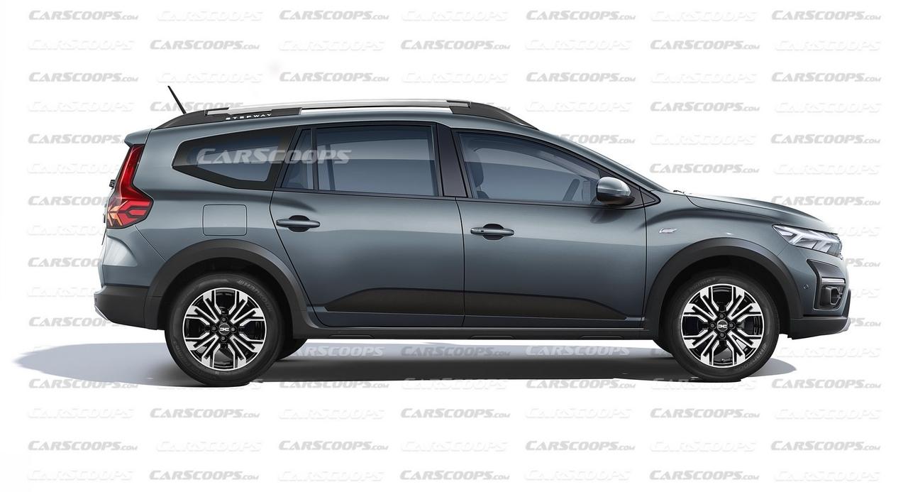 Nuovo Dacia Jogger render