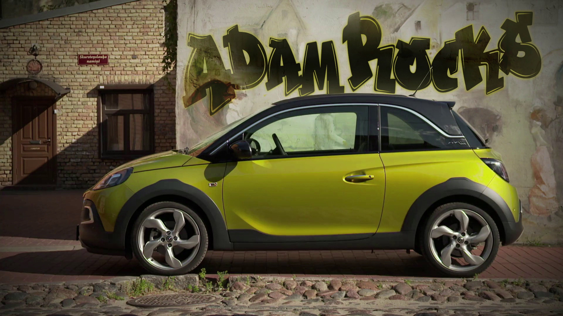 Opel Adam Rocks 2019