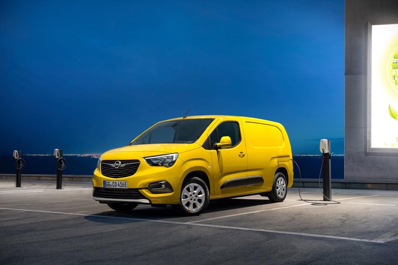 Opel Combo-e - Foto ufficiali