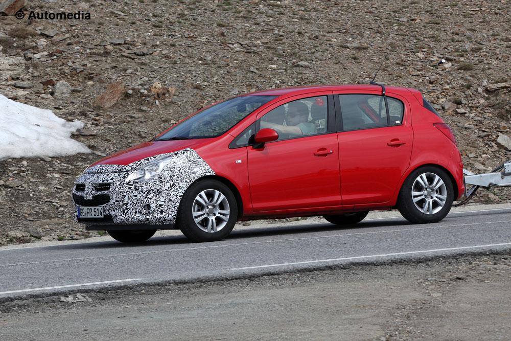 Opel Corsa 2014 - Foto spia 24-06-2013 - 3/5