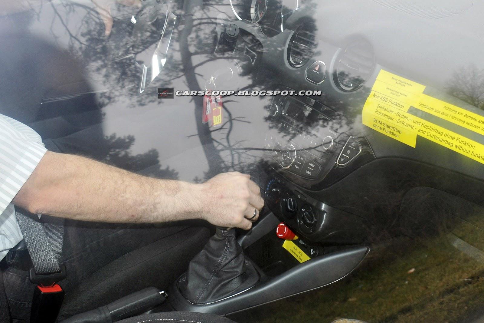 Opel Corsa 2014 restyling (Foto 9 di 11)