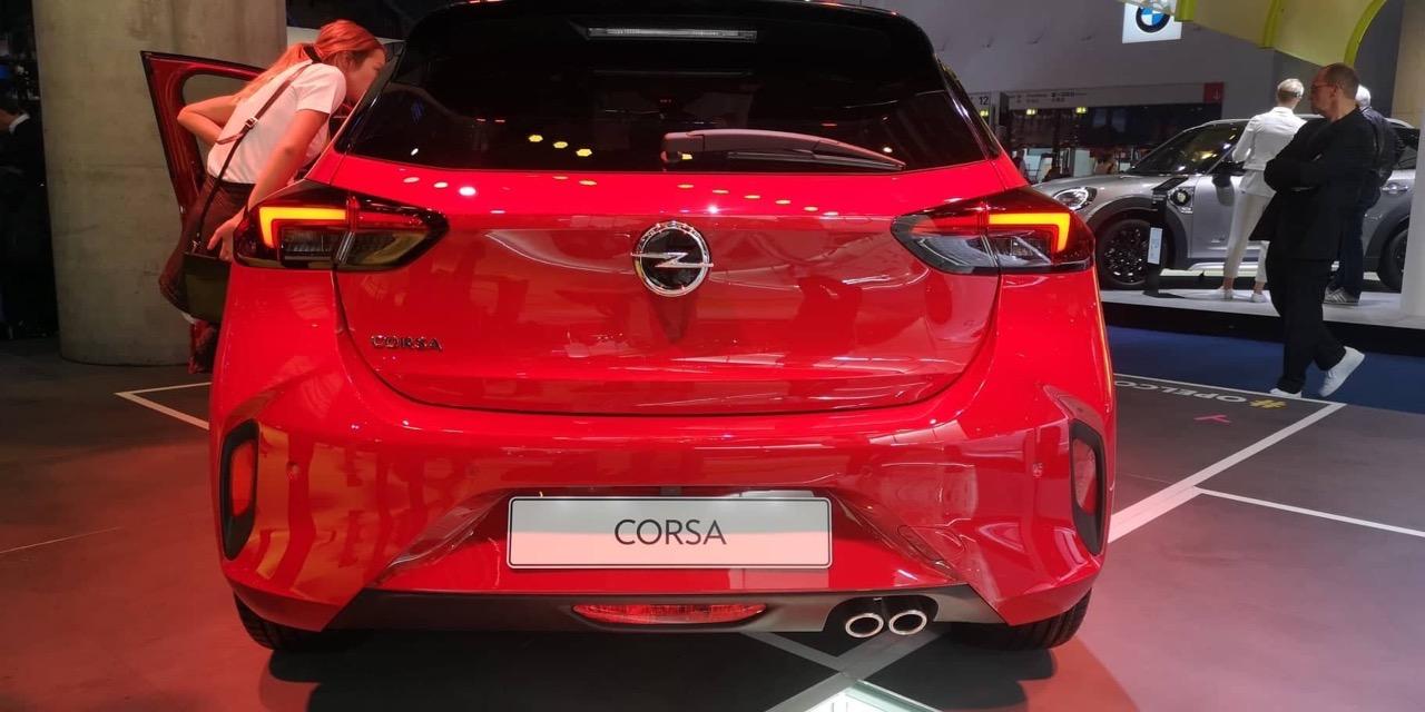 Opel Corsa - Salone di Francoforte 2019
