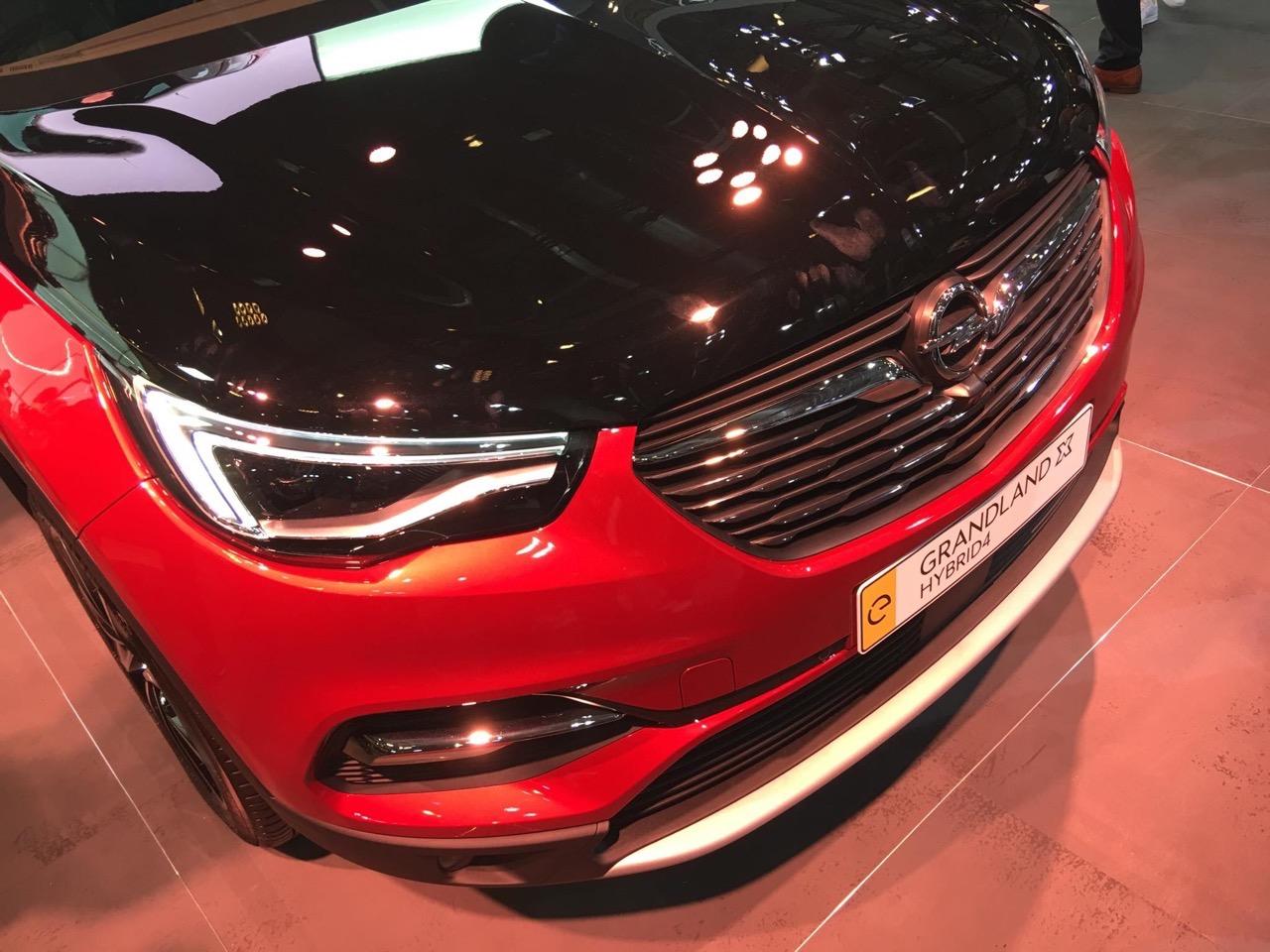 Opel Grandland X Hybrid4 - Salone di Francoforte 2019