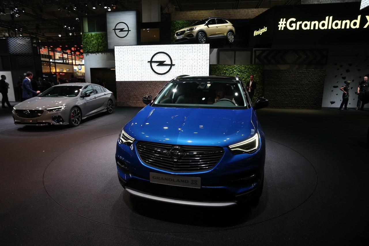 Opel GrandLand X - Salone di Francoforte 2017