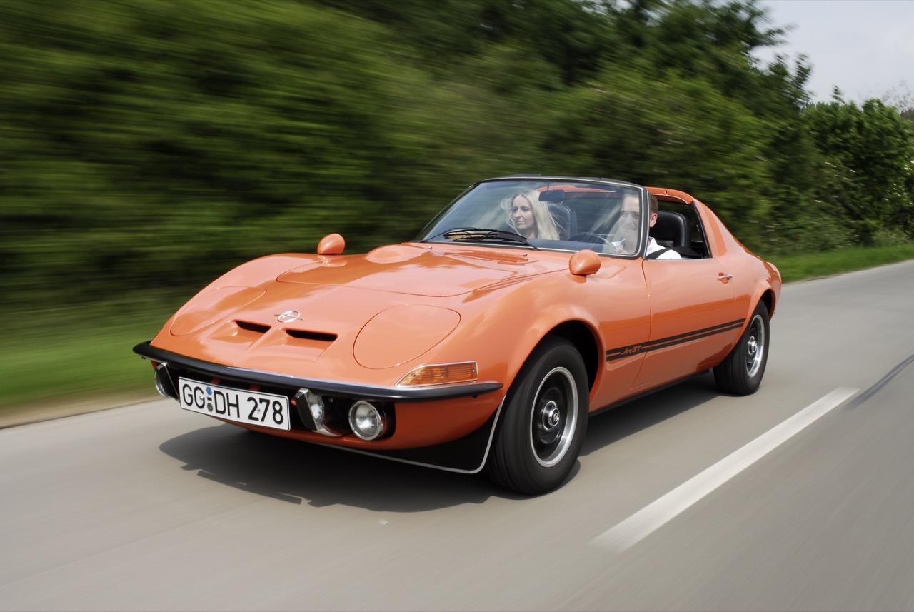 Opel GT - Una storia lunga 50 anni