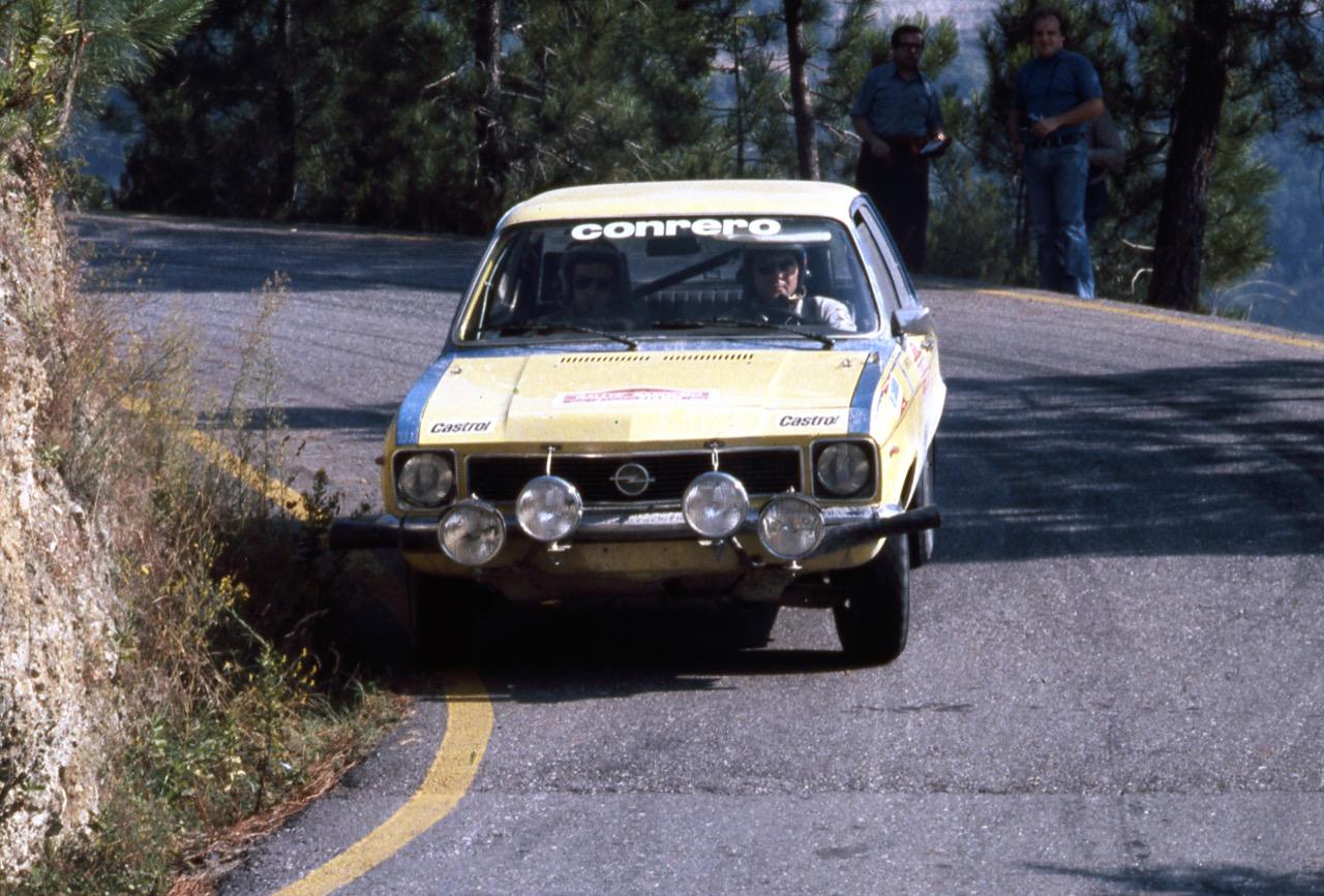 Opel Kadett e Ascona - storiche da rally in Italia