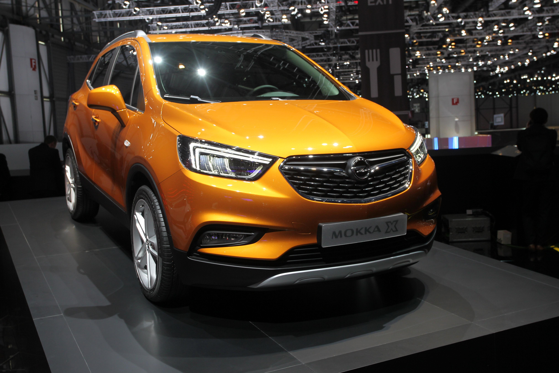Opel Mokka X - Salone di Ginevra 2016