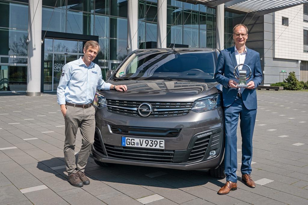 Opel Vivaro-e - Van of the year 2021