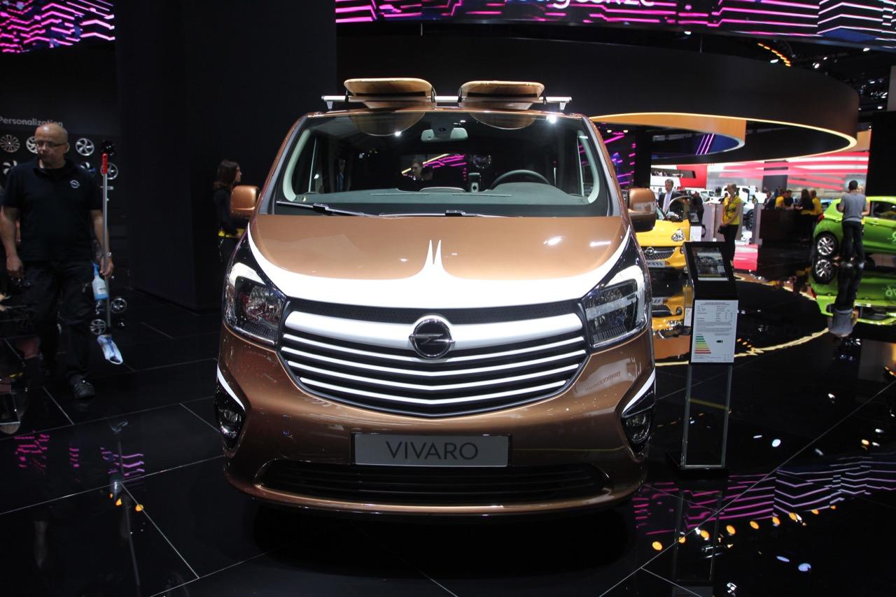 Opel Vivaro Surf - Salone di Francoforte 2015