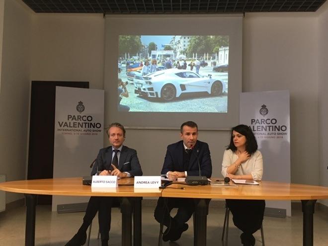 Parco Valentino 2018 conferenza stampa