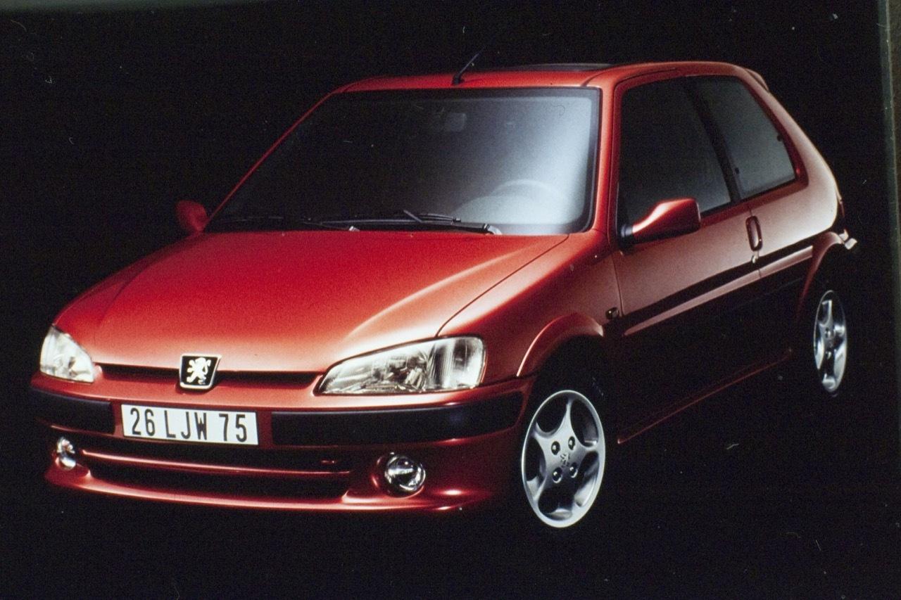 Peugeot 106 GTI - foto storiche