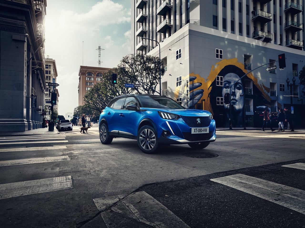 Peugeot 2008 2020 - Foto ufficiali
