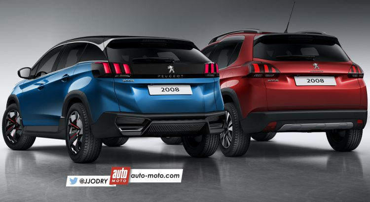 Nuevo Peugeot 208 2019 >> Peugeot 2008 MY 2019 - Rendering - 2/4
