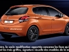 Peugeot 208 Facelift (immagini web)