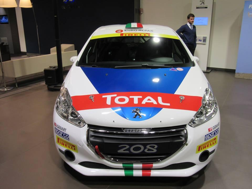 Peugeot 208 T16 2016