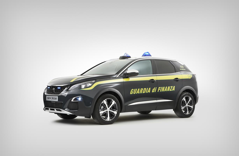 Peugeot 3008 - Guardia di Finanza