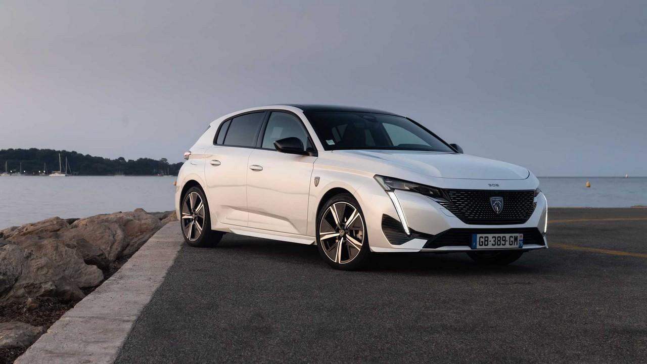 Peugeot 308 2021 primo contatto Cannes