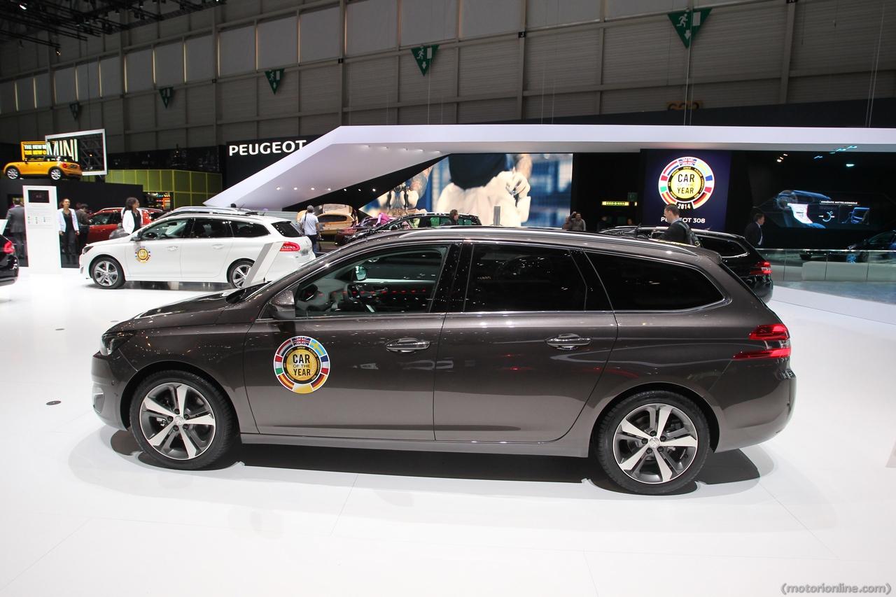 Peugeot 308 SW - Salone di Ginevra 2014