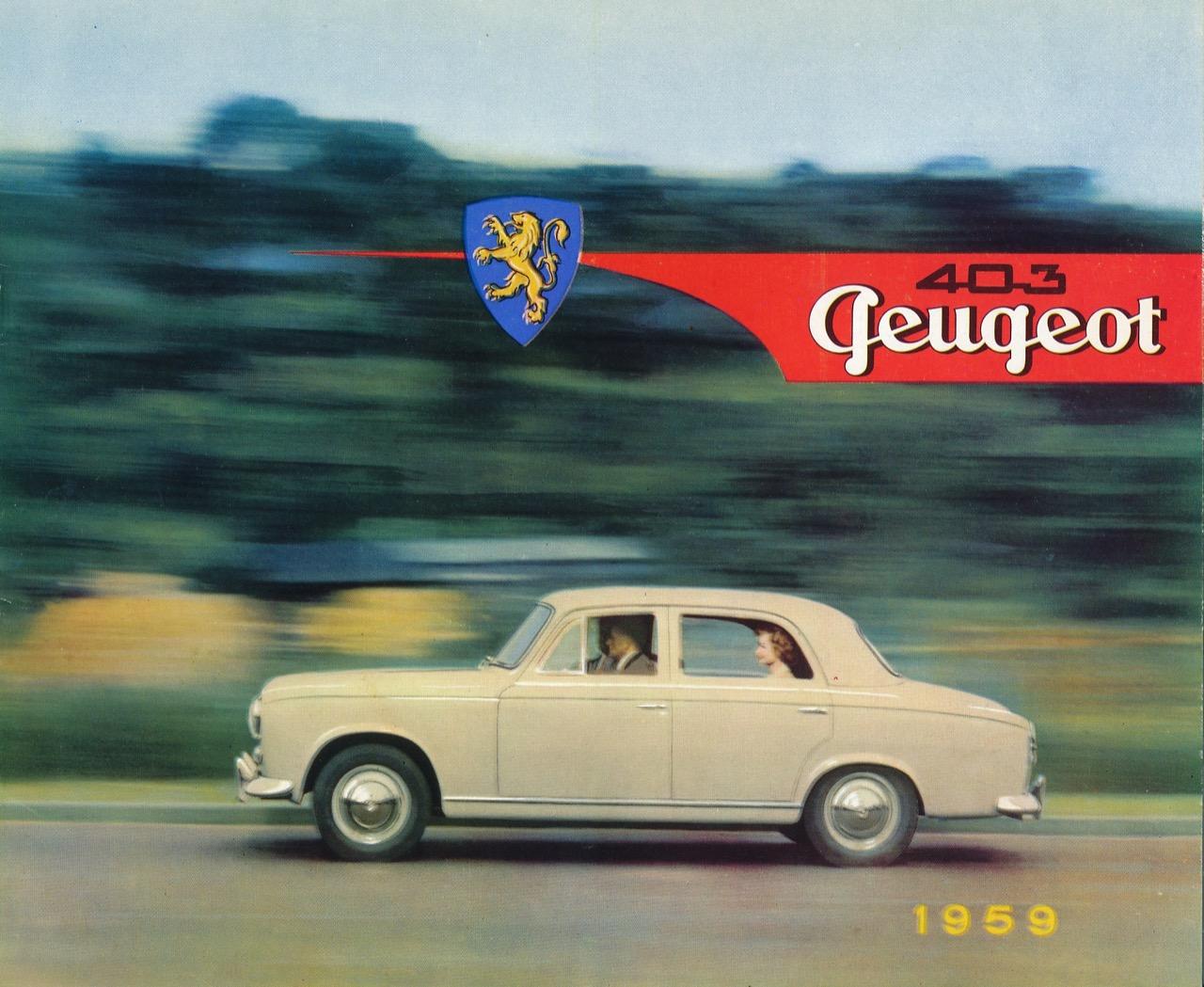 Peugeot 403 Jaeger - foto