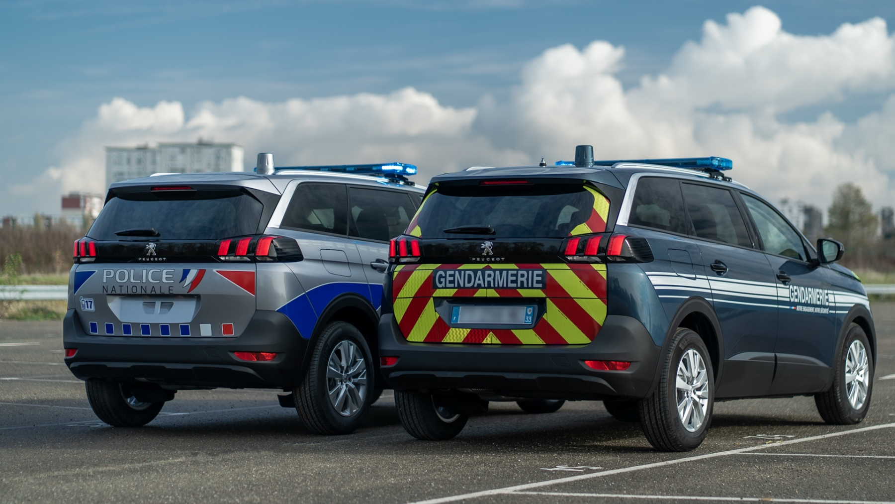 Peugeot 5008 - Forze dell'ordine francesi
