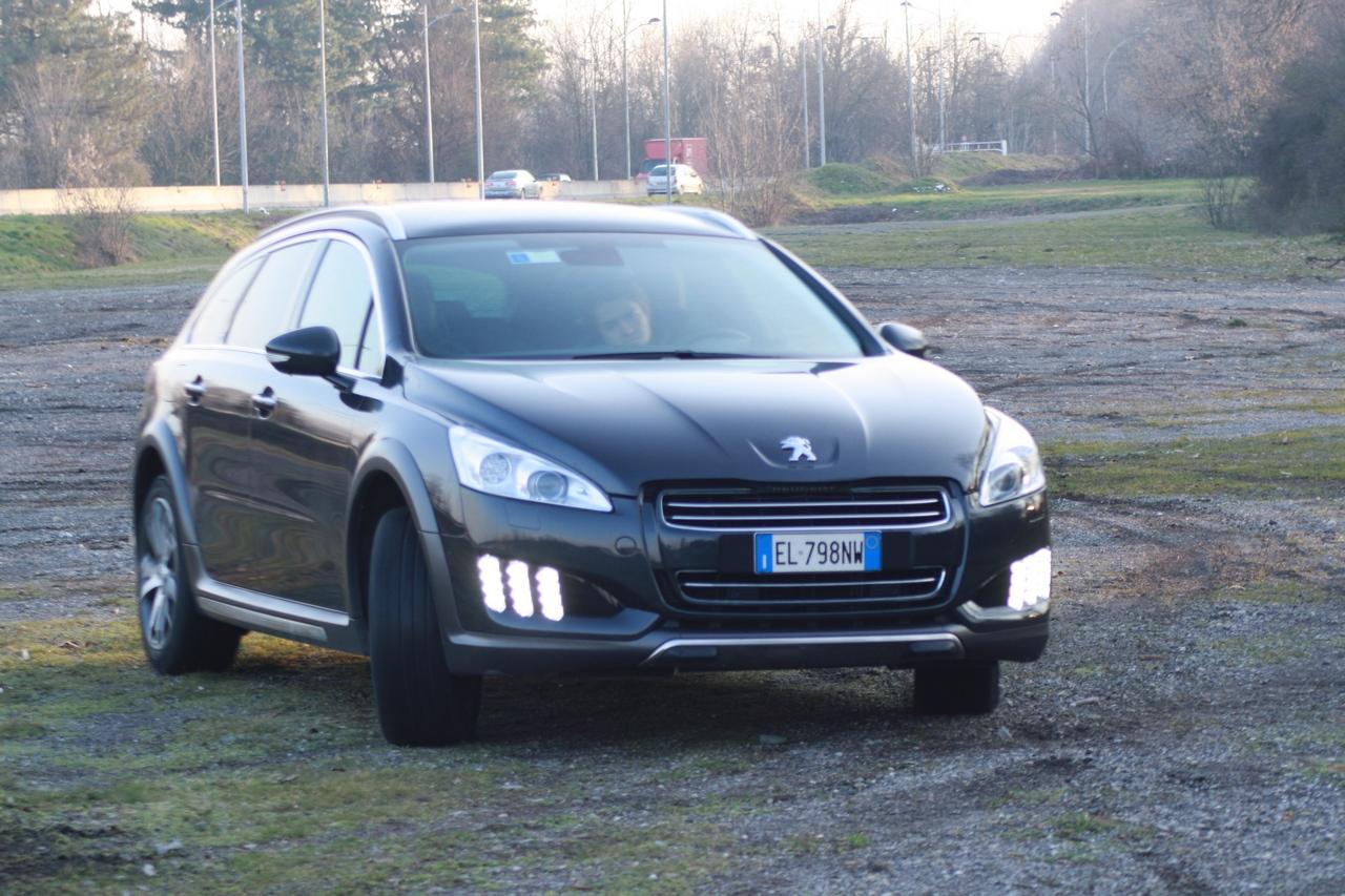 Peugeot 508 RXH - Prova su strada