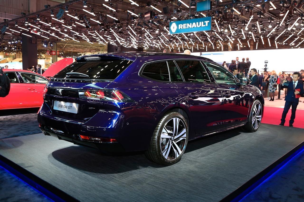 Peugeot 508 SW - Salone di Parigi 2018