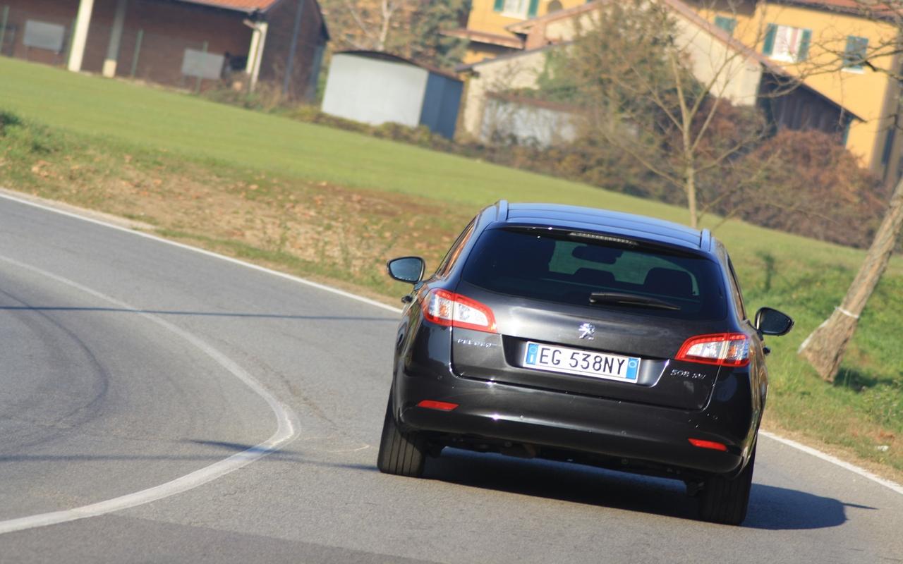 Peugeot 508 тест фото