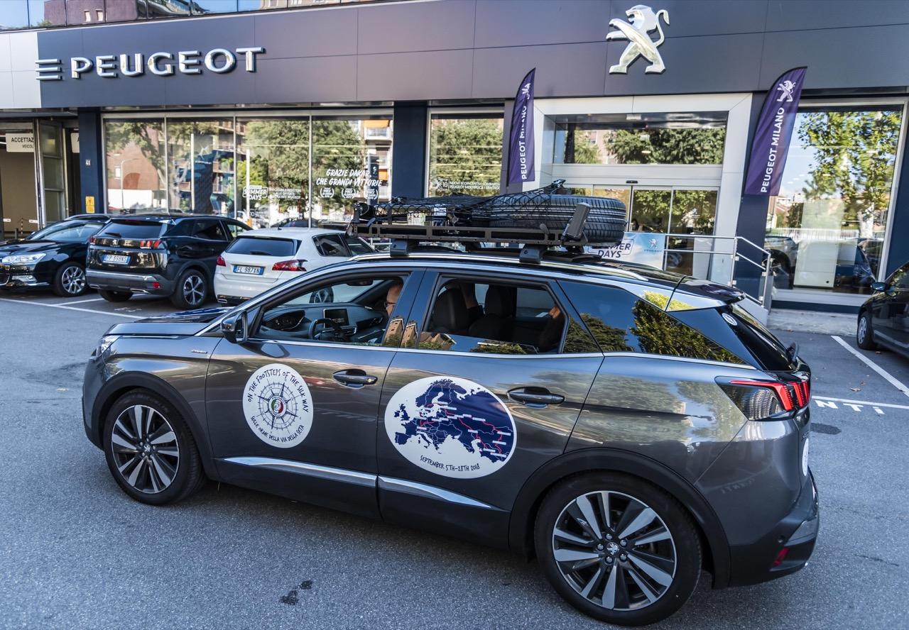 Peugeot Crew 3008 Silky Way Rally - Parte 01