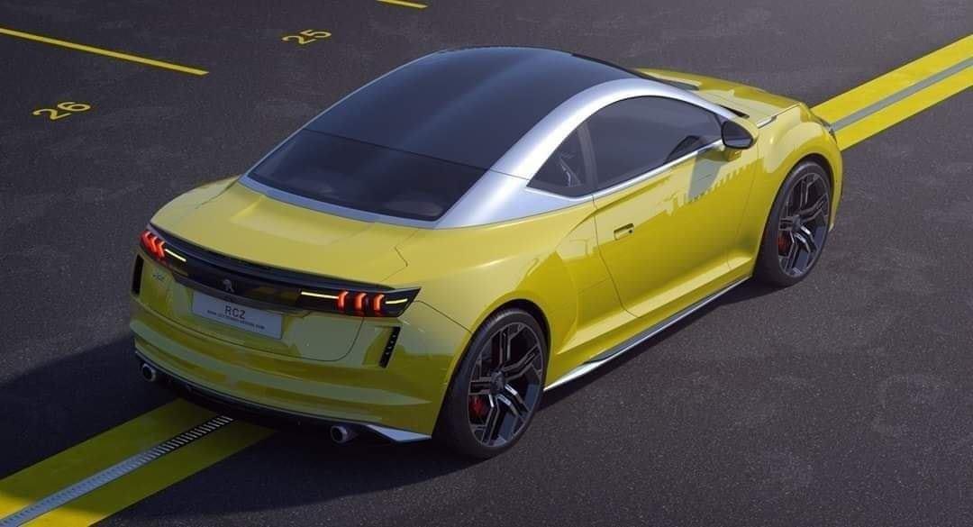 Peugeot RCZ 2020 - Render