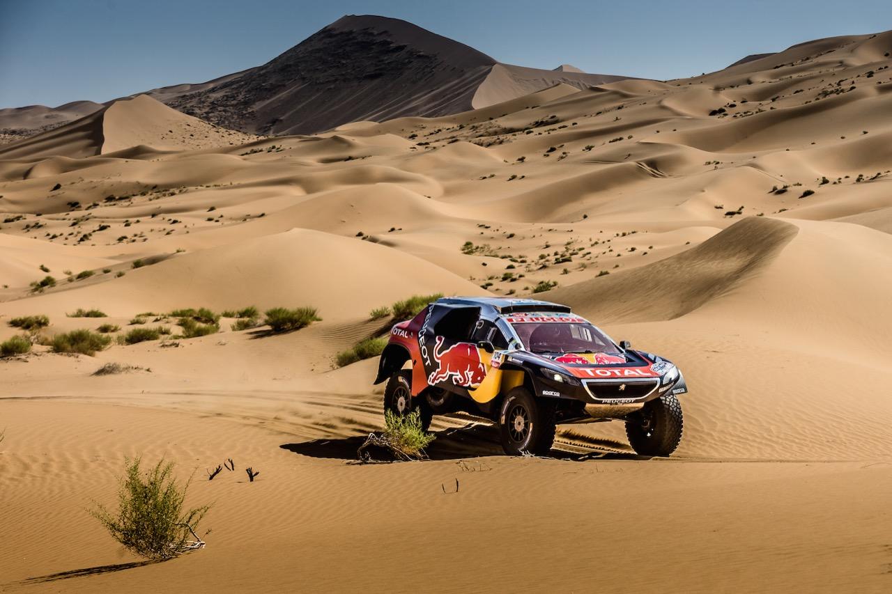 Peugeot Sport al Silk Way Rally 2016 - tappa 13