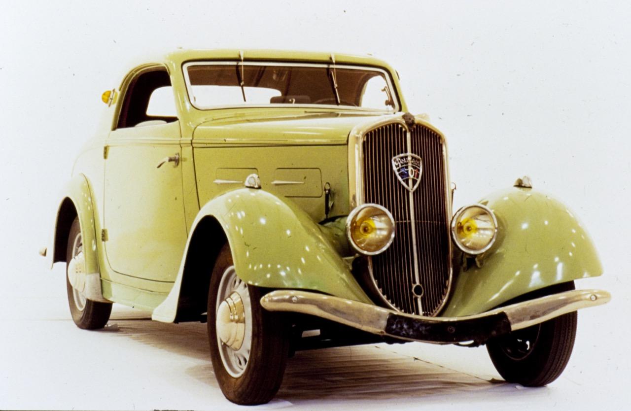 Peugeot storiche - aerodinamica