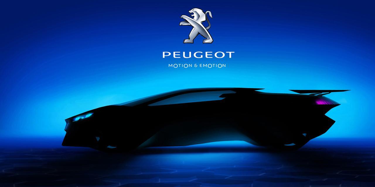 Peugeot supercar concept 2015
