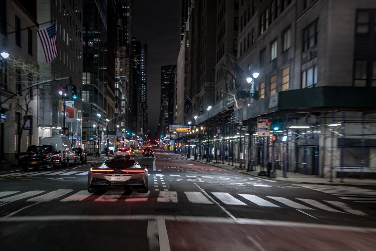 Pininfarina Battista a New York
