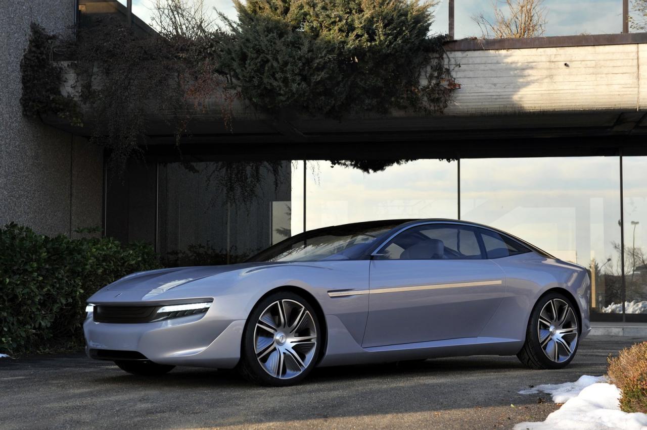 Pininfarina Cambiano Concept nuove immagini