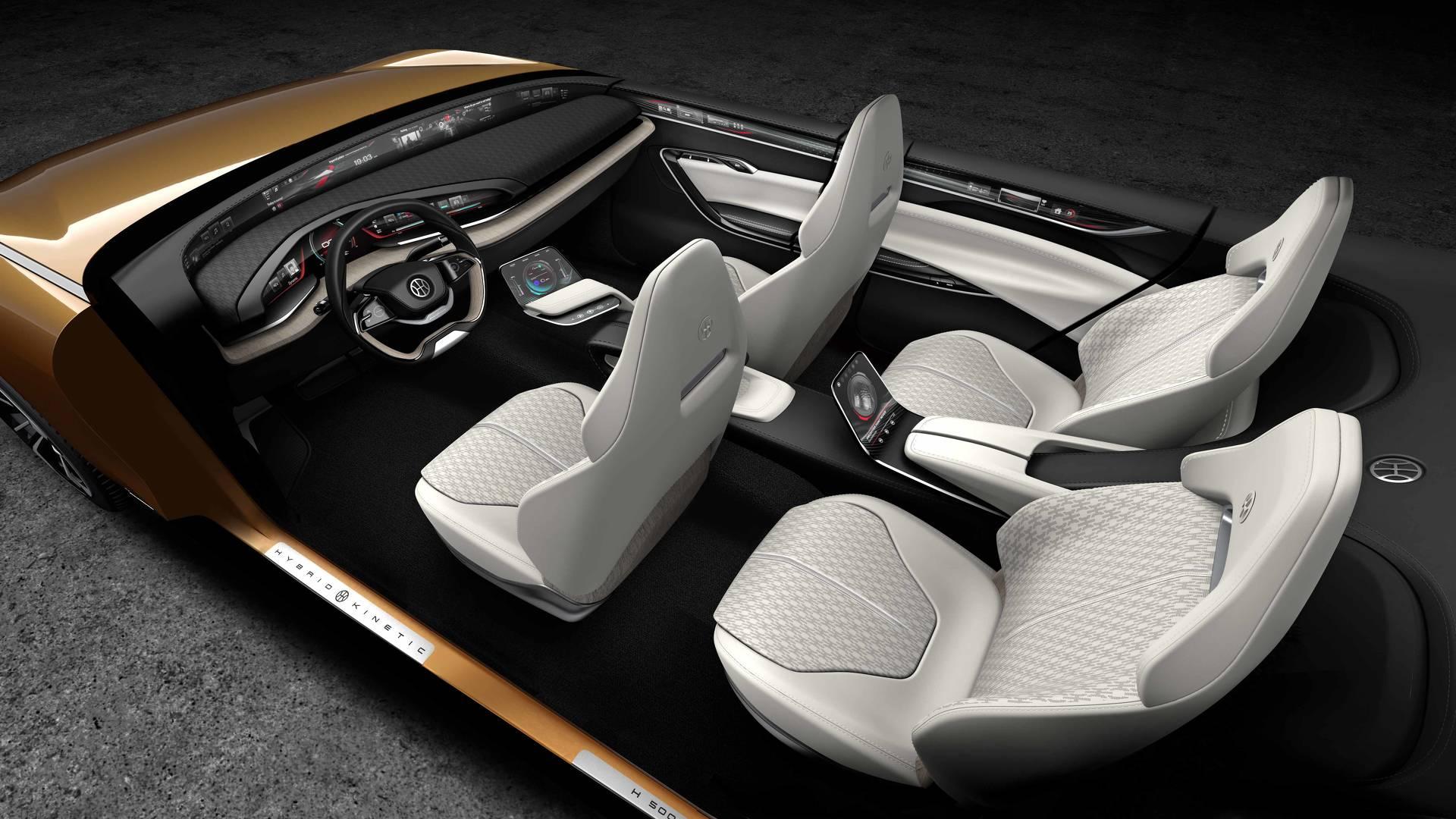 Pininfarina H500 Concept e K350 Concept