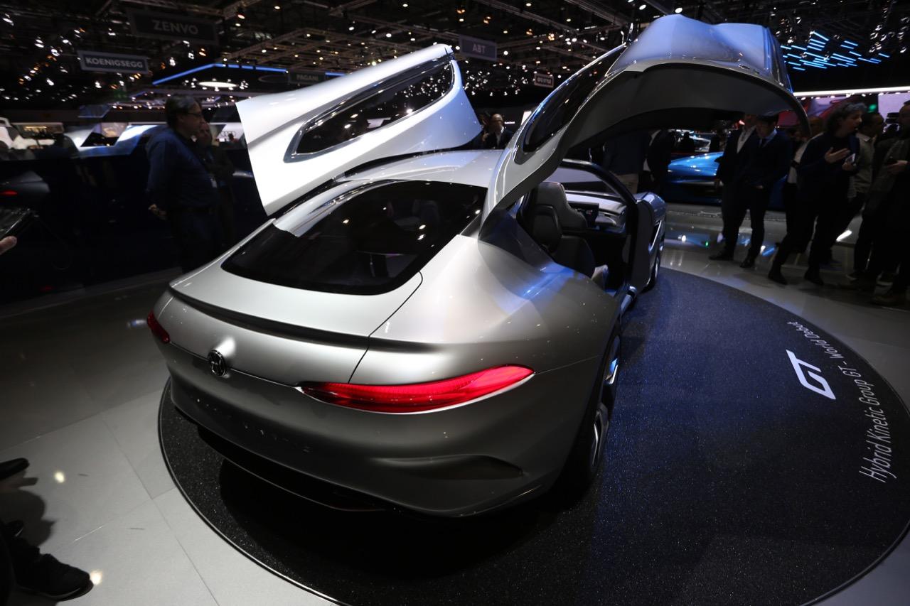 Pininfarina HK GT - Salone di Ginevra 2018