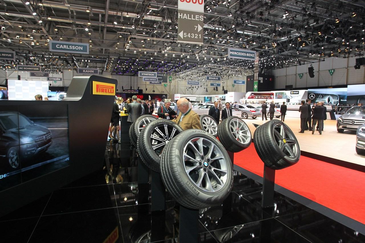 Pirelli Stand - Salone di Ginevra 2014