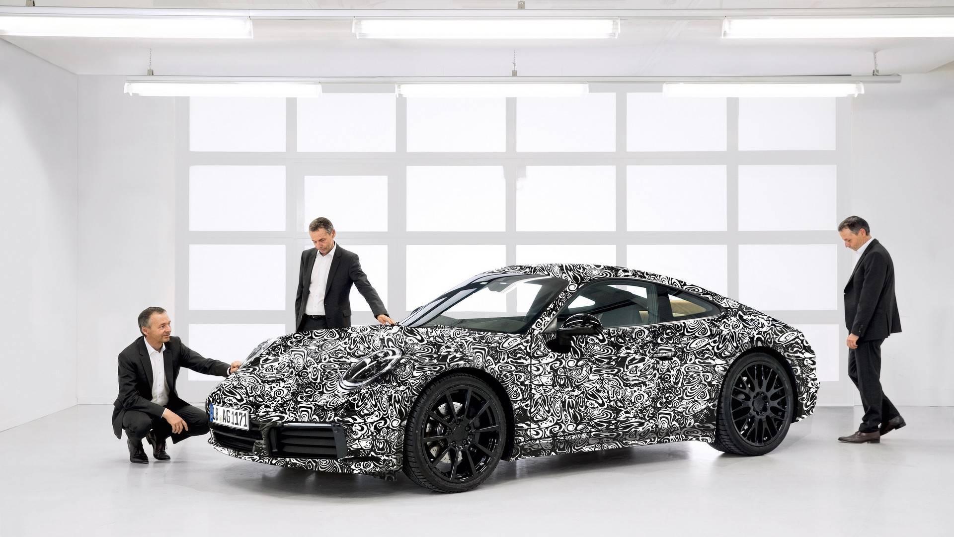 Porsche 911 2019 - Teaser