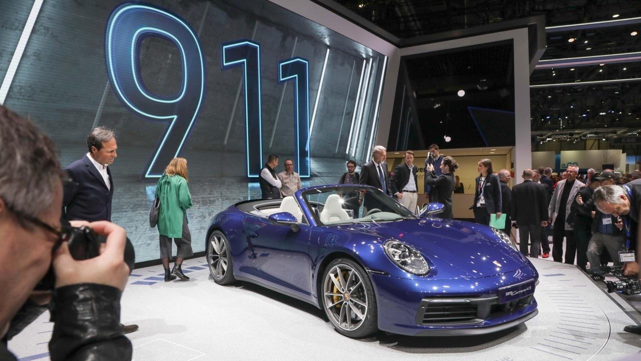 Porsche 911 Cabriolet - Salone di Ginevra 2019 Live