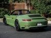 Porsche 911 Carrera GTS Cabriolet Olive Green