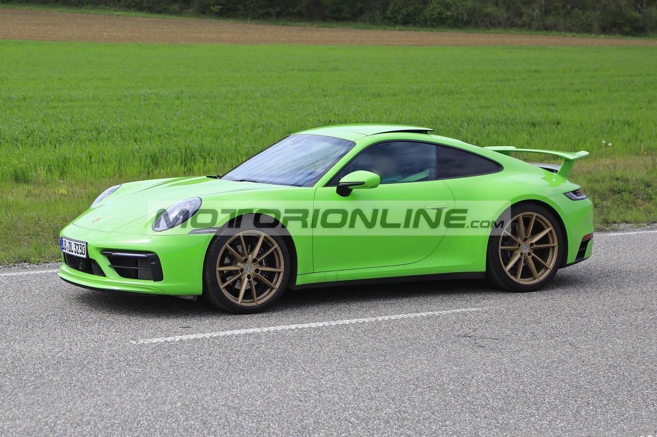 Porsche 911 - Foto spia 6-5-2019