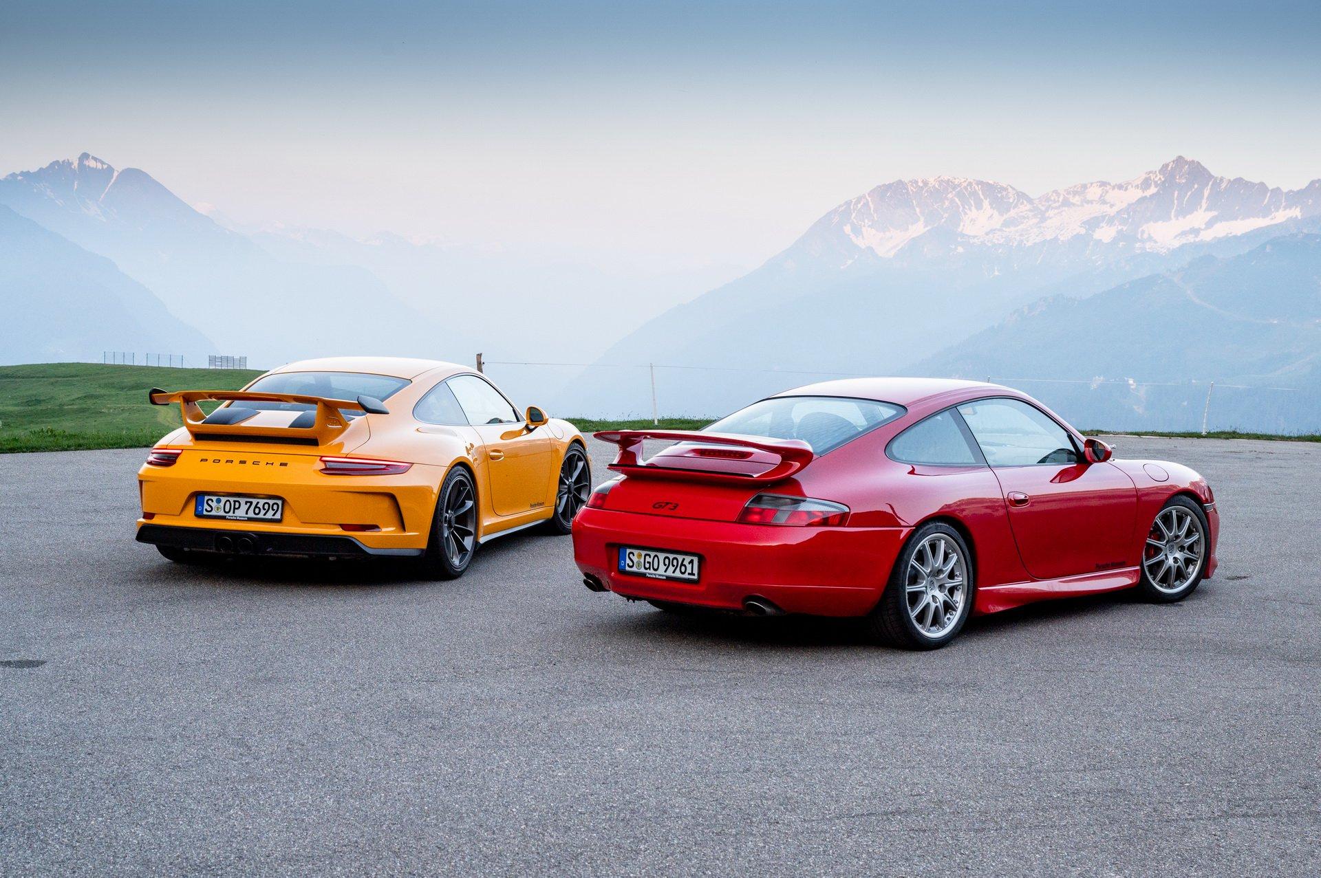 Porsche 911 GT3 - 20 anni