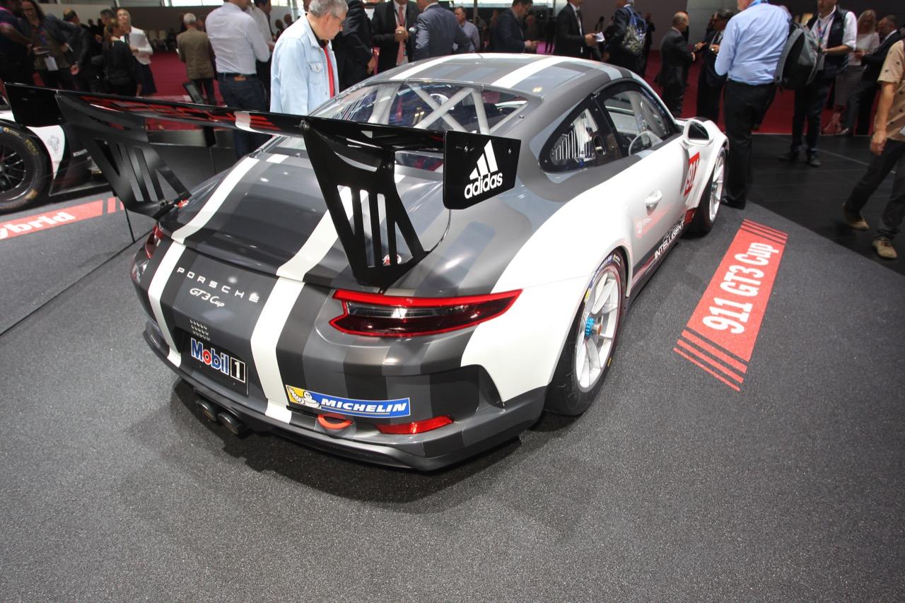 Porsche 911 GT3 Cup - Salone di Parigi 2016