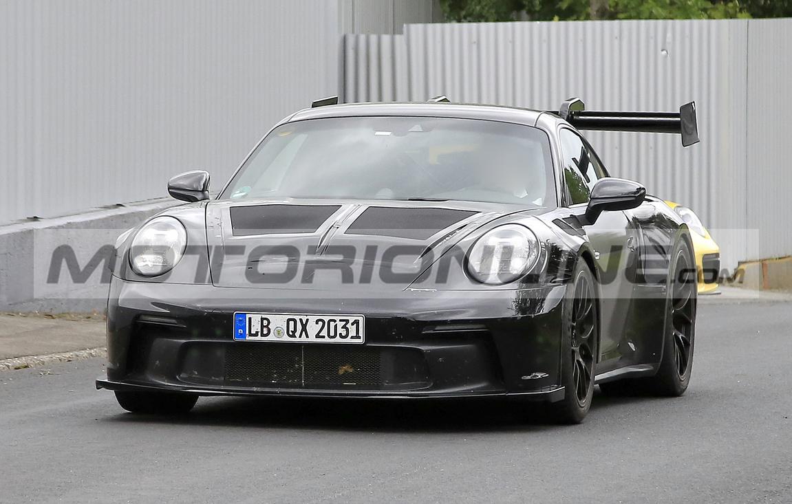 Porsche 911 GT3 RS 2021 - le foto spia agosto 2020