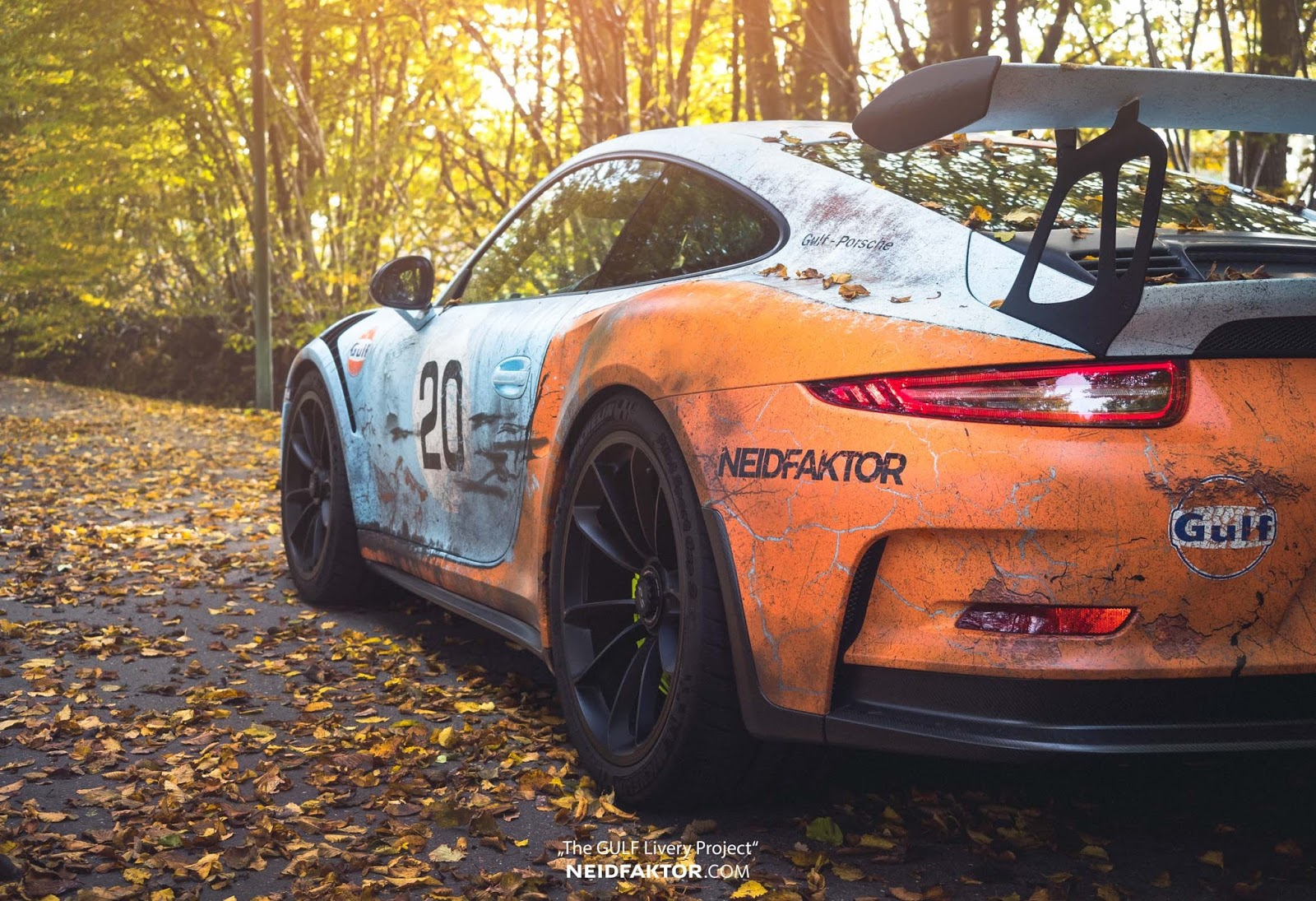 Porsche 911 GT3 RS by Neidfaktor