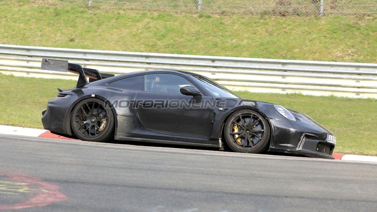 Porsche 911 GT3 RS - Foto Spia 1 06 21
