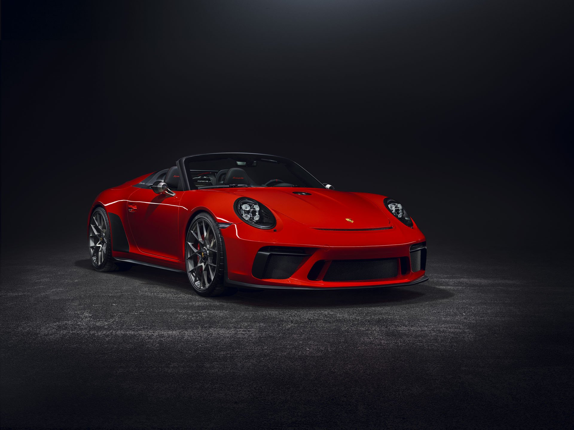 Porsche 911 Speedster Concept Red