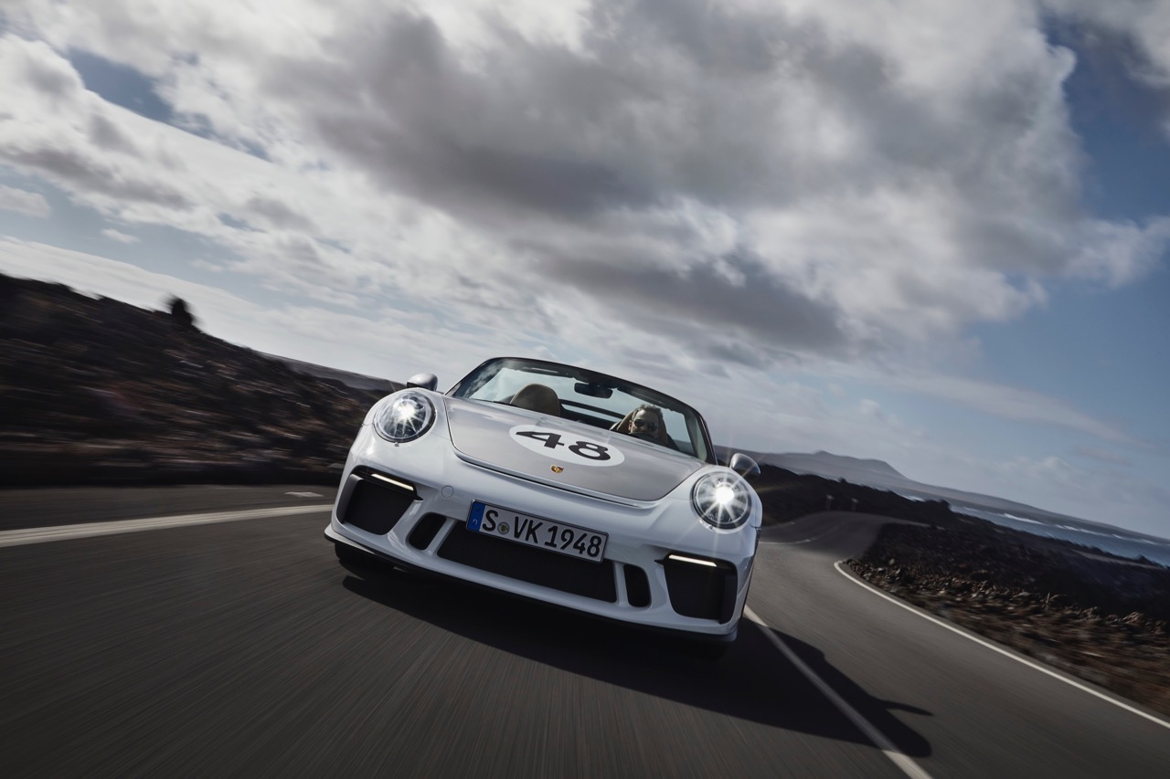 Porsche 911 Speedster - Nuove foto ufficiali